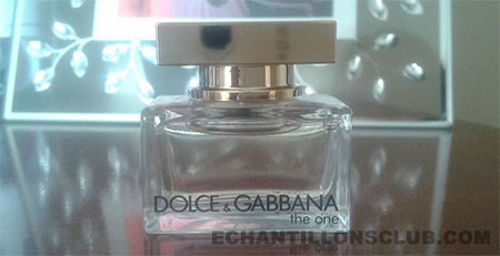 Miniature gratuite parfum Dolce & Gabbana The One