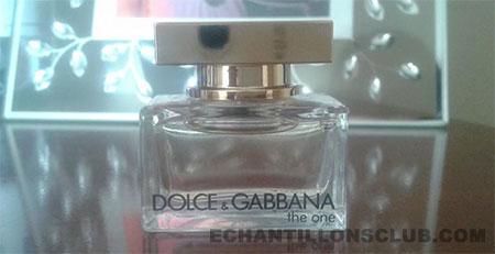 Miniature gratuite parfum Dolce & Gabbana The One