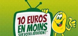 Restaurants La Pataterie : Bon de réduction de 10€
