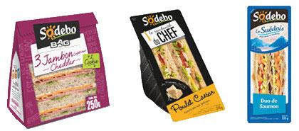 Testez gratuitement les sandwiches Sodebo