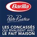échantillon test de sauces Barilla Pesto Rustico