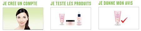 Testez des produits avec The Body Shop