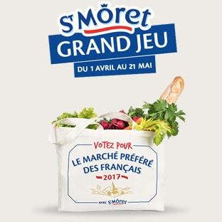 Votez pour votre marché préféré : Jeu St Môret 100% gagnant