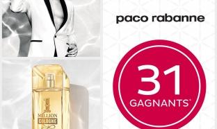 Jeu concours Paco Rabanne et Nocibé
