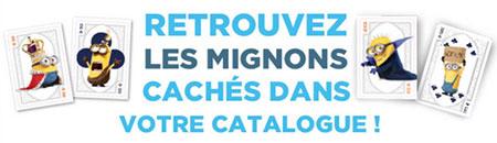 Concours Les Minions avec Carrefour
