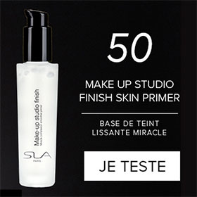 Testez le soin Make-up studio de SLA Paris : 50 gratuits