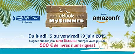 eBookMySummer avec Amazon.fr