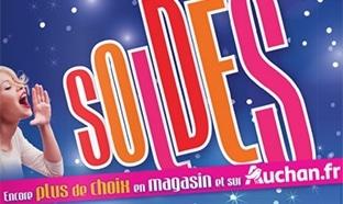Catalogue Soldes d'hiver 2017 des magasins Auchan