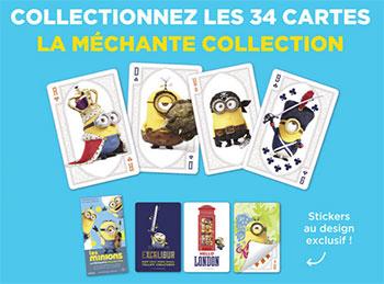 Cartes Carrefour Les Minions