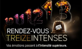 Concours Les rendez-vous TREIZEINTENSES avec Carte Noire