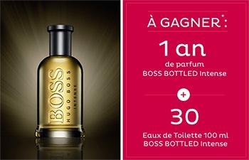 Les cadeaux Hugo Boss à gagner