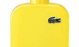 échantillons gratuits parfum Lacoste L.12.12 jaune