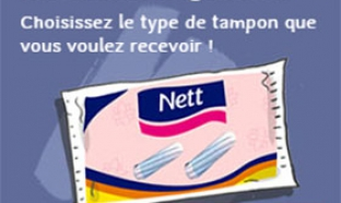 échantillons gratuits de tampon Nett