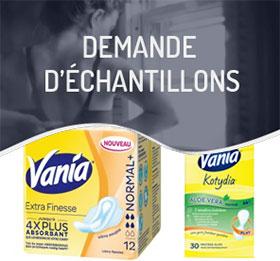 Recevez des échantillons gratuits Vania