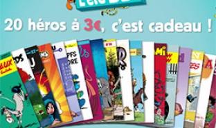 L'été BD 2015 : 30 bandes dessinées à 3€ seulement