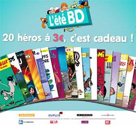 L'été BD : 30 bandes dessinées à 3€ seulement