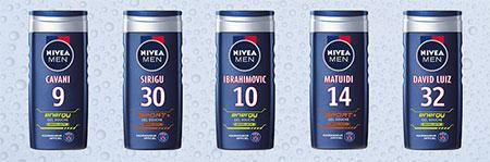 Gagnez des gels douche NIVEA MEN Edition Limitée Paris Saint-Germain