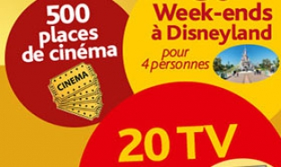 Jeu Yoplait / Carrefour : 30 week-ends Disneyland … à gagner