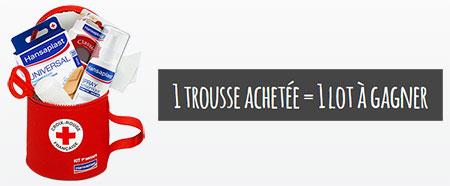 Trousse 1er Secours HANSAPLAST Croix-Rouge française