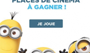 2520 places de cinéma Les Minions à gagner