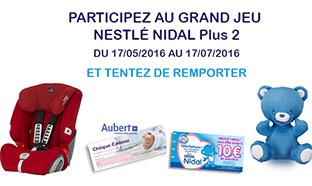 Jeu Nestlé Nidal gratuit