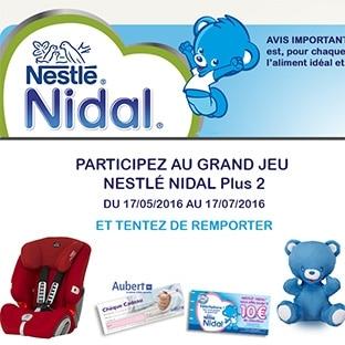 Concours Nestlé Nidal avec Magicmaman : 531 cadeaux