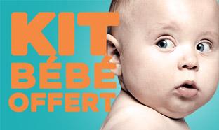 Total kit bébé 2017 offert : Cadeaux gratuits