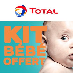 Total kit bébé 2018 offert : Cadeaux gratuits