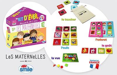 Gagnez des kits d'éveil Les Maternelles