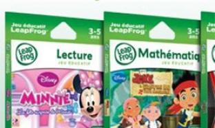 Jeux éducatifs pour LeapPad : 50% de réduction