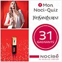 Jeu concours Nocibé et Yves Saint Laurent