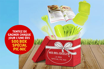 500 box spécial picnic à gagner