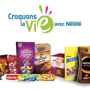 Coupons reduction nestle