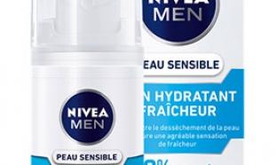 échantillon test de soin hydratant Nivea Men