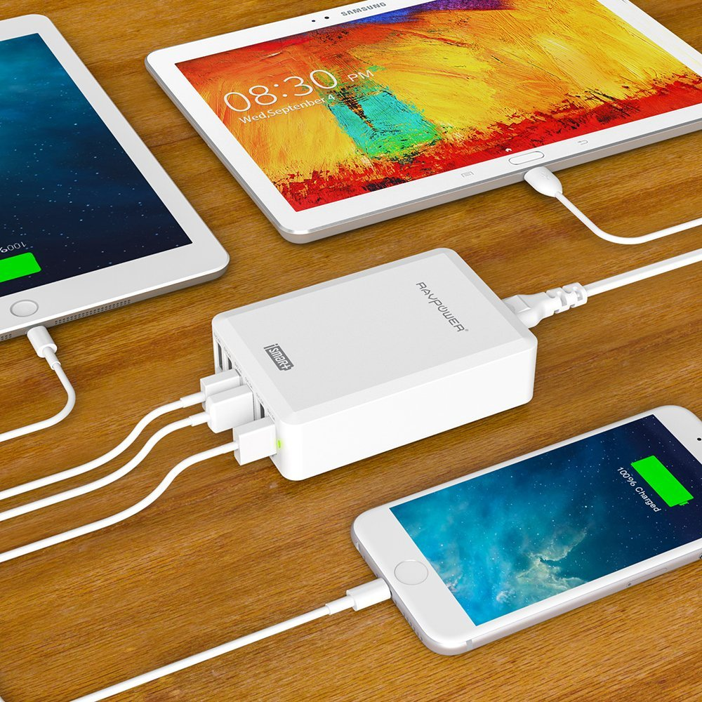 Promotion : Chargeur secteur multi USB à 17€ (au lieu de 49€)