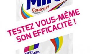 Échantillon de lessive Mir couleurs Fini le Tri