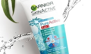 Jeu Garnier : 100 soins Pure Active 3en1 + échantillons gratuits