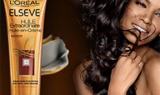 Testez l'Huile Extraordinaire Elsève de L'Oréal