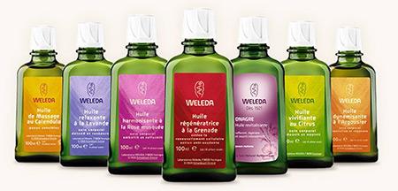 Les huiles Weleda à gagner