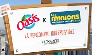 14 687 cadeaux Les Minions à gagner au jeu concours Oasis