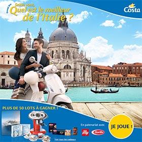 Jeu concours Costa Croisières : 54 lots à gagner