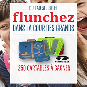 250 cartables Tennessee à gagner au concours Flunch