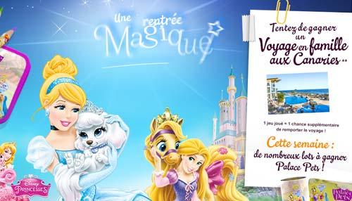 Jeu Disney avec Carrefour