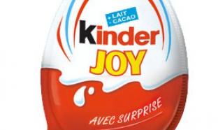 Concours Kinder : Packs Kinder Joy et autres lots à gagner