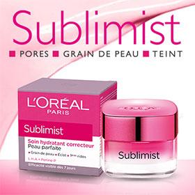Échantillons Gratuits du soin Sublimist de L'Oréal Paris