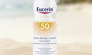 Testez une protection solaire Eucerin Sun Brume : 100 gratuites