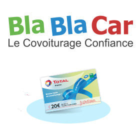 blablacar covoiturage 20 de carburant offert. Black Bedroom Furniture Sets. Home Design Ideas