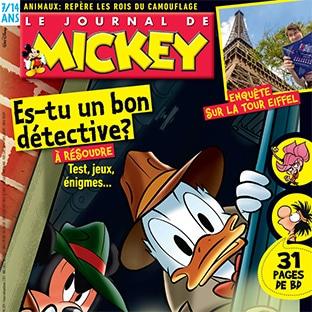 Bon plan Abonnement : Le Journal de Mickey moins cher (-48%)