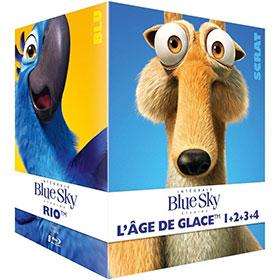 Bon plan Coffret 8 blu-ray à 23.99€ (Age de glace 1 à 4, Rio …)