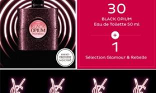 31 parfums Black Opium et du maquillage YSL à gagner